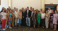 Посол Польши Селим Хазбиевич встретился с полонией в Алматы