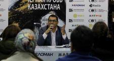 Новую книгу Олега Червинского презентовали в Астане