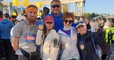 Спортсмены PJ Teem пробежали Алматинский полумарафон
