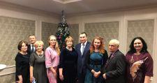 Полония Астаны посетила рождественский прием
